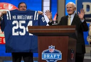 NFL Draft Mr Irrelevant-2013